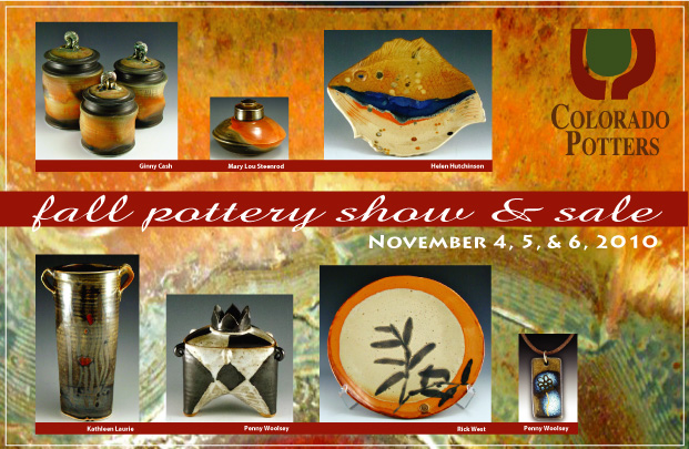 Colorado Potters Guild Fall 2010 Invitation