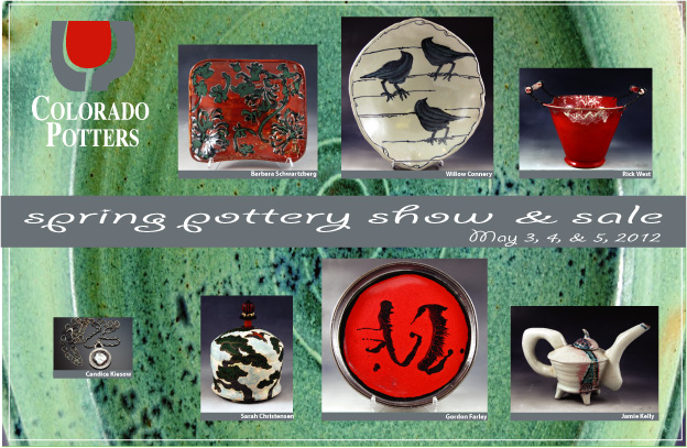 Colorado Potters Guild 2012 Spring Show Invitation