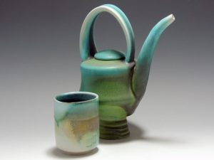 James Kelly - Tea Pot and Cup