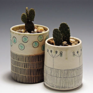 Cindy Guajardo - Soda Fired Planters