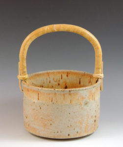 Jo Sanders - Wheel Thrown Pottery Basket