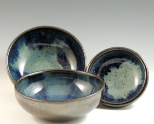 Jo Sanders - Wheel Thrown Bowl Set